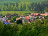 un village alsacien.