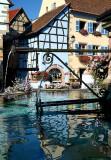 les villages de la route du vin, en Alsace - typical Alsatian villages.