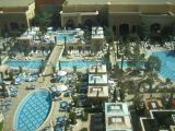 pools outside our Tower Suite window