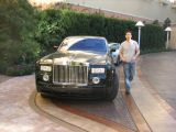 one of many Rolls outside the valet