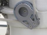 choker block at mast base