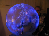 24 Electric-Blue Plasma Ball