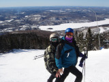 lake tremblant in background