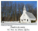 Chapelle in the country