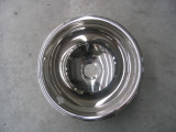 vasca inox semisfera diametro 300 mm lucida da incasso - vendita