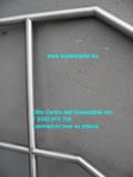 protezione acciaio inox su misura per scala - a disegno