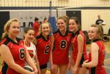 Girls 16U Red Hawks