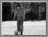 The soccer ball...