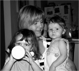 Sister-in-law with Grandies