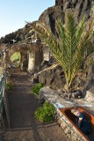 In the past the people of La Palma all lived in caves but this one has been adapted with a bit of modern comfort.