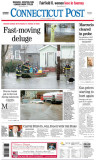 Connecticut Post (FRONT PAGE) 3/3/07