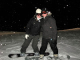 Jackie & Erin Night Boarding 2007 Blue Mountain