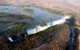 Vic Falls helicopter view