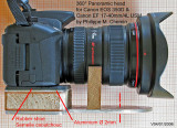 OLD Panoramic head for Canon EOS 350D