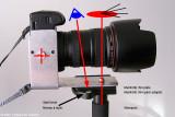 Panorama with monopod & bracket - Camera orientation portrait