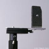Monopod & bracket - Camera orientation portrait