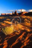Monument Valley DunesTotem Poles