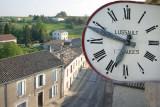 The church clock