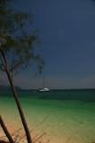 Sailboat off Island near Krabi