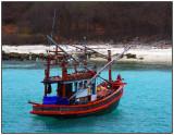 Mini fishing trawler