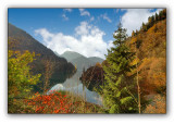Abkhazia, Ritsa lake, autumn