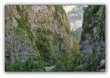 Abkhazia, gorge of Gega river