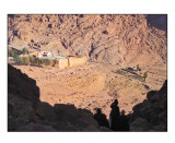 View on St. Catherine's monastery, 6th century