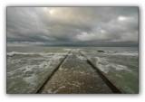 Sochi, road into the sea