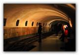 Abkhazia, metro into the Novy Afon Cave