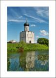 Vladimirskaya oblast regn, Pokrova na Nerli temple