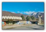 Abkhazia, bus station Gagra Hippodrome