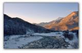 Big Sochi, Krasnaya Polyana ski resort, Mzymta river