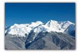 Big Sochi, view from Krasnaya Polyana Ski resort