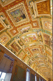 Musei Vaticani, the ceiling of the maps gallery