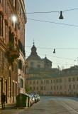 Roma, winter sunday morning