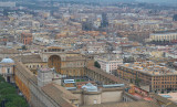 Musei Vaticani from the top of San Pietro