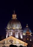 la cupola della Chiesa di S. Carlo al Corso