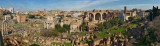 Forum Romanum view from the Palatine Hill