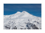 Elbrus, view from Mount Cheget