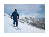 Sergey, mountain guide. Southern Cheget