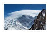 Mount Donguz-Orun and the 7 glacier