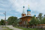 öåðêîâü â Ãîðíî-Àëòàéñêå / church in Gorno-Altaisk, the capital of the Altai Republic
