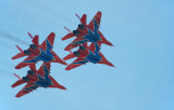 Mig-29 fighter, Strizhi (The Swifts) aerobatic team