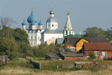 Suzdal town, the Kremlin view