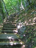 The road to Fortress - 1480 steps