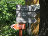 Directions at Skansen, Stockholm