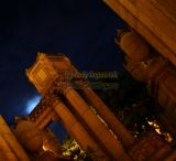 Palace of Fine Arts at night - San Francisco, California