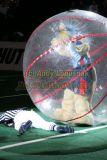 Nashville Kats mascot runs over referee