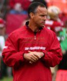 San Francisco 49ers head coach Mike Nolan