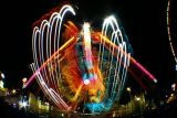 Allegan County Fair at night - Michigan